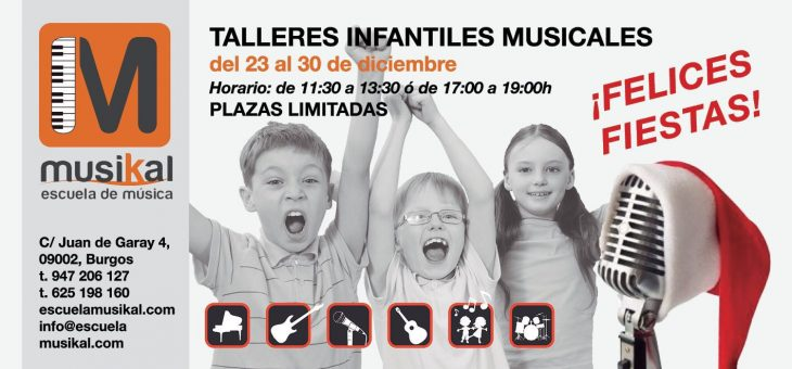 TALLERES  INFANTILES MUSICALES!!!
